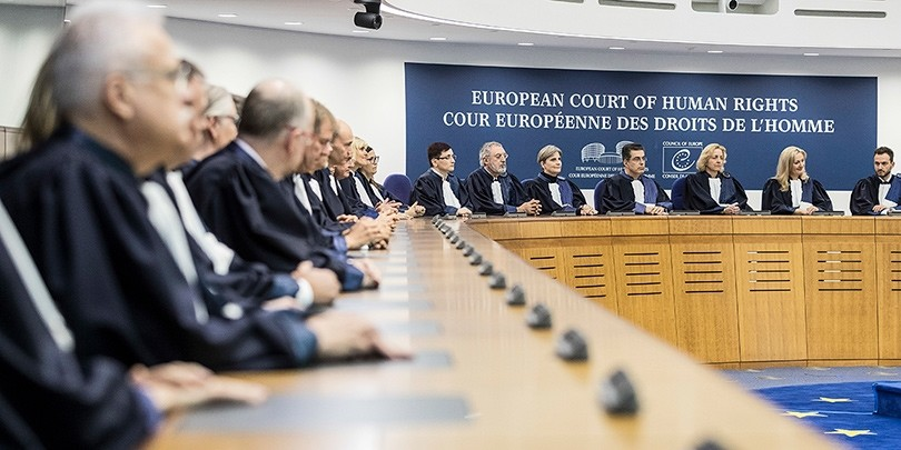 Members of the European Court of Human Rights listen at the European Court of Human Rights in Strasbourg, France, 31 October 2017 (EPA Photo)