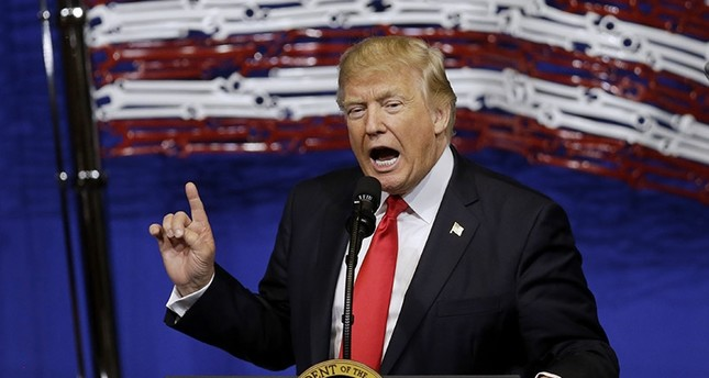 In this April 18, 2017, file photo, President Donald Trump speaks at Snap-On Tools in Kenosha, Wis. (AP Photo)