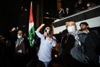وقفة احتجاجية أمام القنصلية الإسرائيلية في إسطنبول