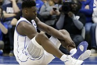 Nike shoe blowout blamed for college basketball star's injury