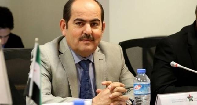 عبد الرحمن مصطفى رئيس الائتلاف الوطني السوري