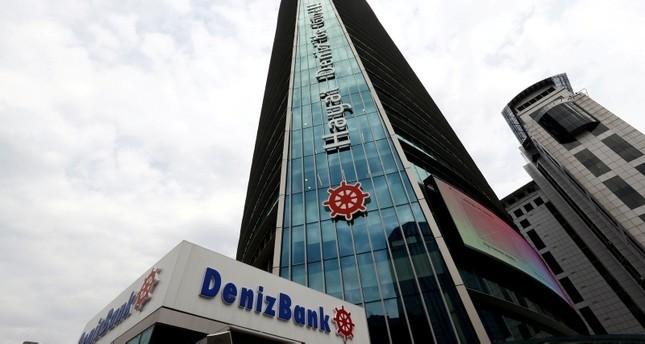 الفرع الرئيسي لمصرف دنيز بنك بإسطنبول (رويترز)