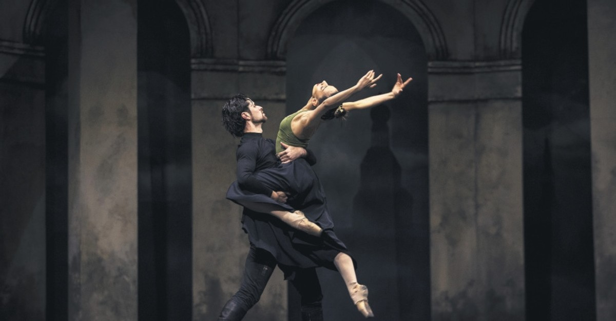 A scene from ,Romeo and Juliet, ballet performance.
