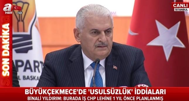 يلدريم: سنفوز برئاسة بلدية إسطنبول إذا ما أعيد فرز كامل الأصوات
