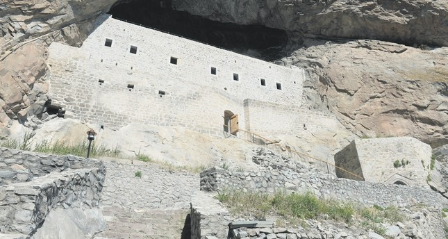 Rock-carved monastery in Turkey starts hosting visitors