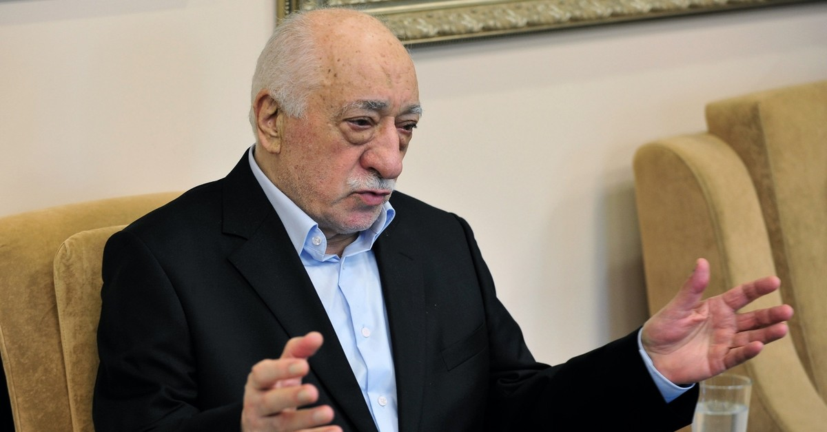 FETu00d6 leader Fetullah Gu00fclen speaks to reporters in his compound in Pennsylvania, United States, on July 17, 2016, one day after the coup attempt by FETu00d6. The terrorist group repeatedly tried to topple the government in 2013 and 2016.