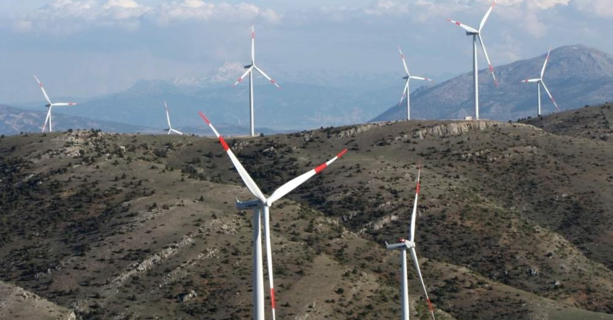 Turkey plans to add 10,000 MW to wind power capacity in the next decade. (AA Photo)