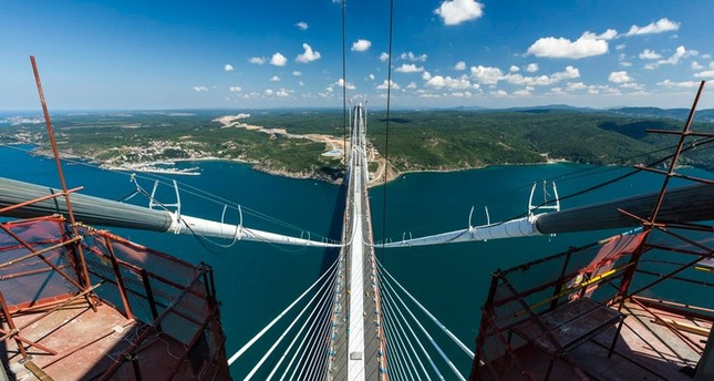 One of Turkey's numerous mega infrastructure projects, the Yavuz Sultan Selim Bridge is set to open on August 26, 2016