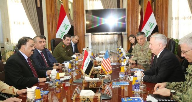 Defense Secretary Mattis says US won't take Iraq's oil