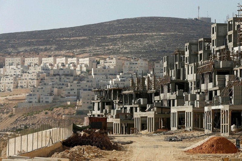 Illegal settlements built by the apartheid state Israel (File photo)