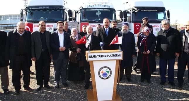 تبرعات الأتراك لإدلب تتجاوز الـ150 مليون ليرة استجابة لدعوة أردوغان