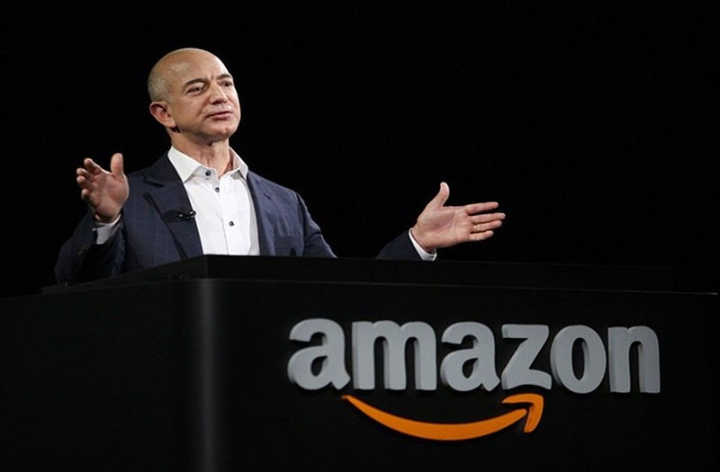 Amazon CEO Jeff Bezon created a secure cloud software to store data from all 17 U.S. intelligence agencies. (Sabah FIle Photo)