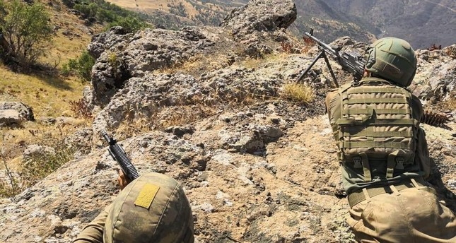 The Turkish military has killed 255 PKK terrorists in Operation Claw in northern Iraq, the National Defense Ministry said on Saturday.