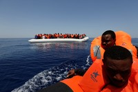 Up to 245 migrants missing after 2 Mediterranean shipwrecks, UN says