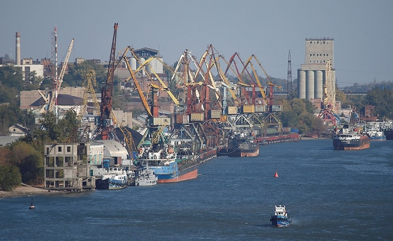 A view shows the river port of Rostov-On-Don, Russia October 19, 2016. (Reuters Photo)
