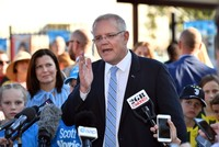 Conservatives set for surprise win in Australia polls