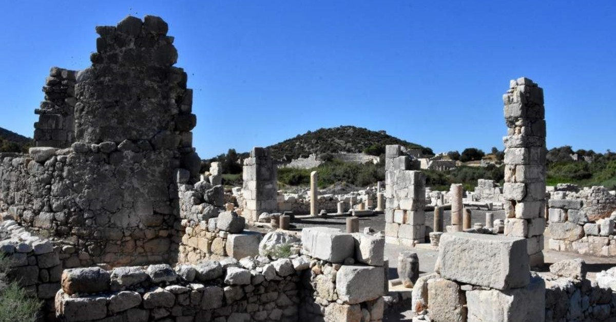 The large, ancient site of Patara lies 70 km southeast of the well-known tourist town of Fethiye and was a leading Lycian port. (DHA Photo)