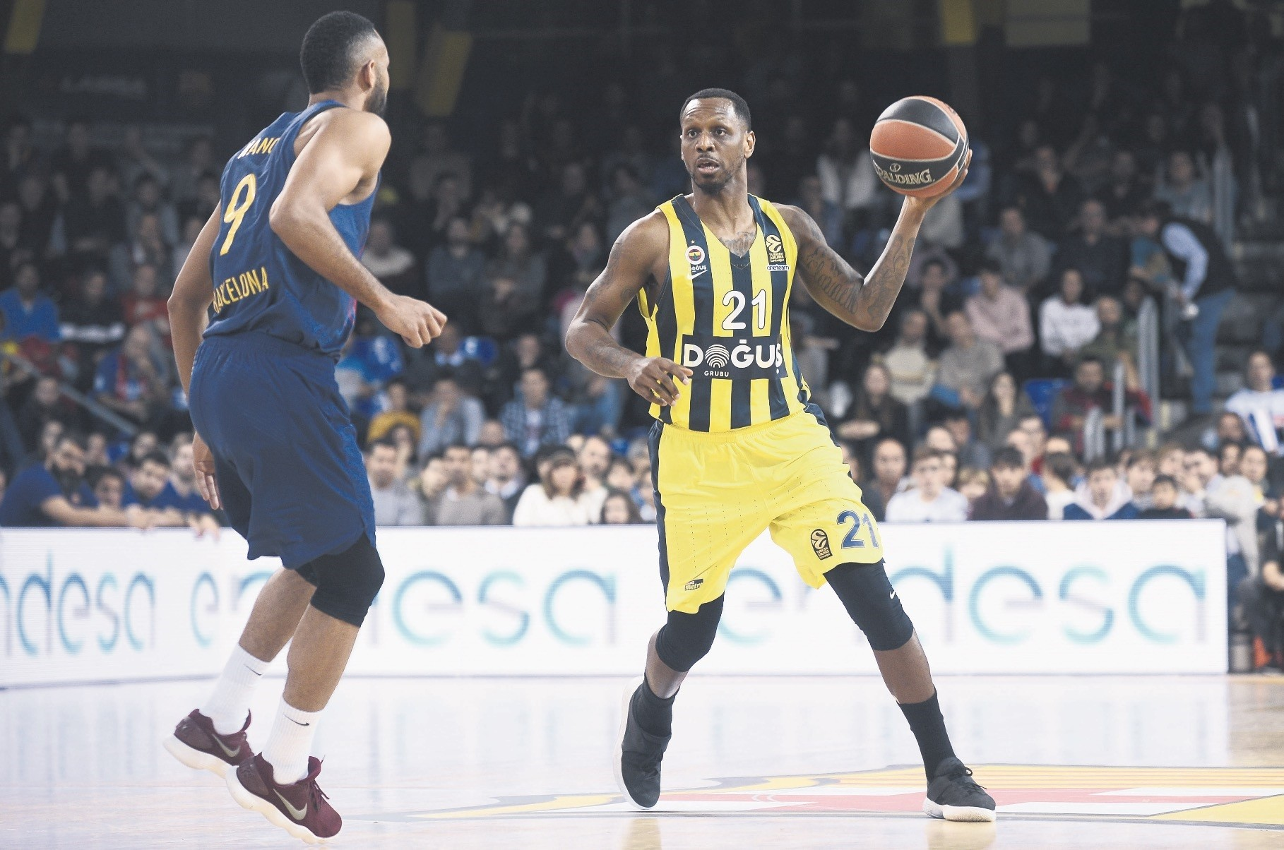 Fenerbahu00e7eu2019s James Nunnally leads the competition in three-point accuracy with a 60 percent conversion rate.