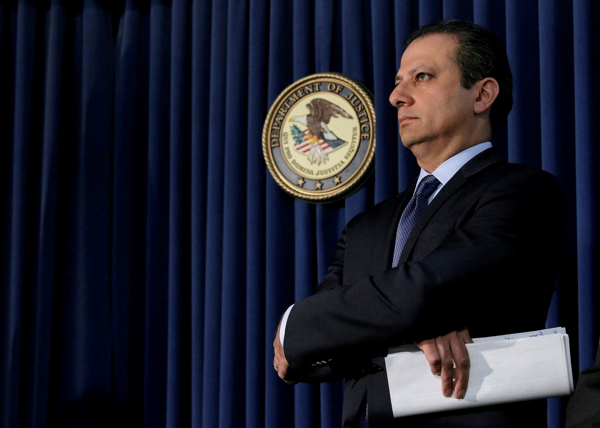 Preet Bharara, former US Attorney for the southern district of New York