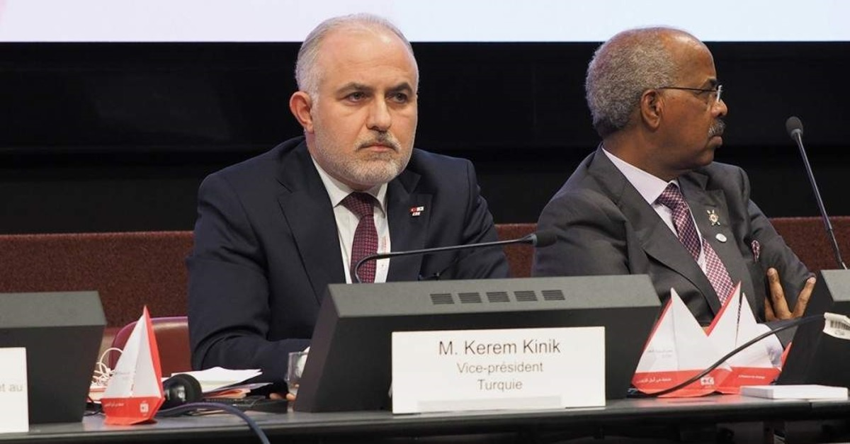 Kerem Ku0131nu0131k, President of the Turkish Red Crescent.