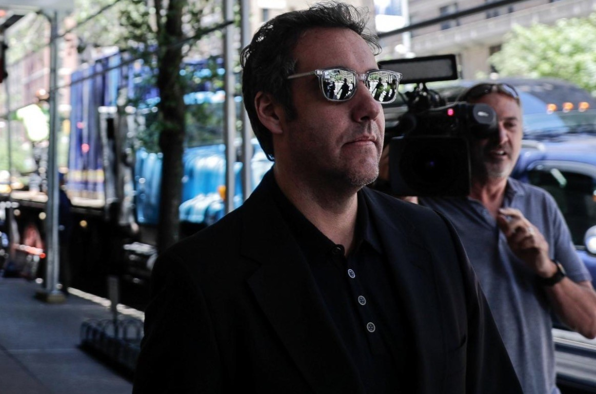 U.S. President Donald Trump's lawyer Michael Cohen leaves his hotel in the Manhattan borough of New York City, New York, U.S., June 15, 2018. (Reuters Photo)
