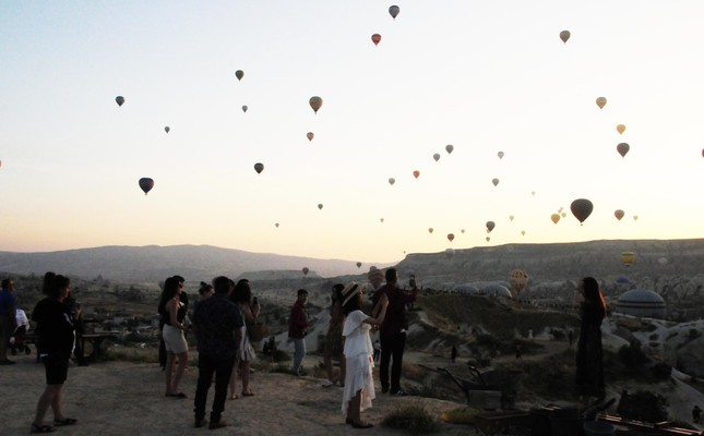 Cappadocia was visited by some 428,230 local and foreign tourists in June.