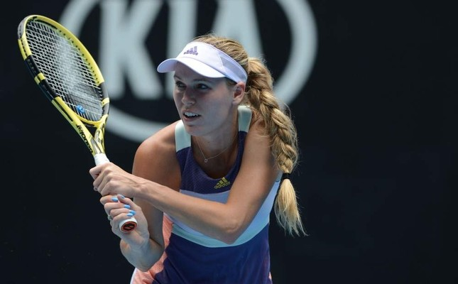 Wozniacki lost to Tunisia's Ons Jabeur in her last match, Melbourne, Jan. 24, 2020. AA Photo