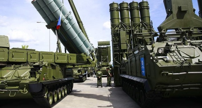 Turkey is carrying out negotiations with Russia for the second consignment of the S-400 missile defense system. An agreement is expected to be signed by April 2020. AA Photo