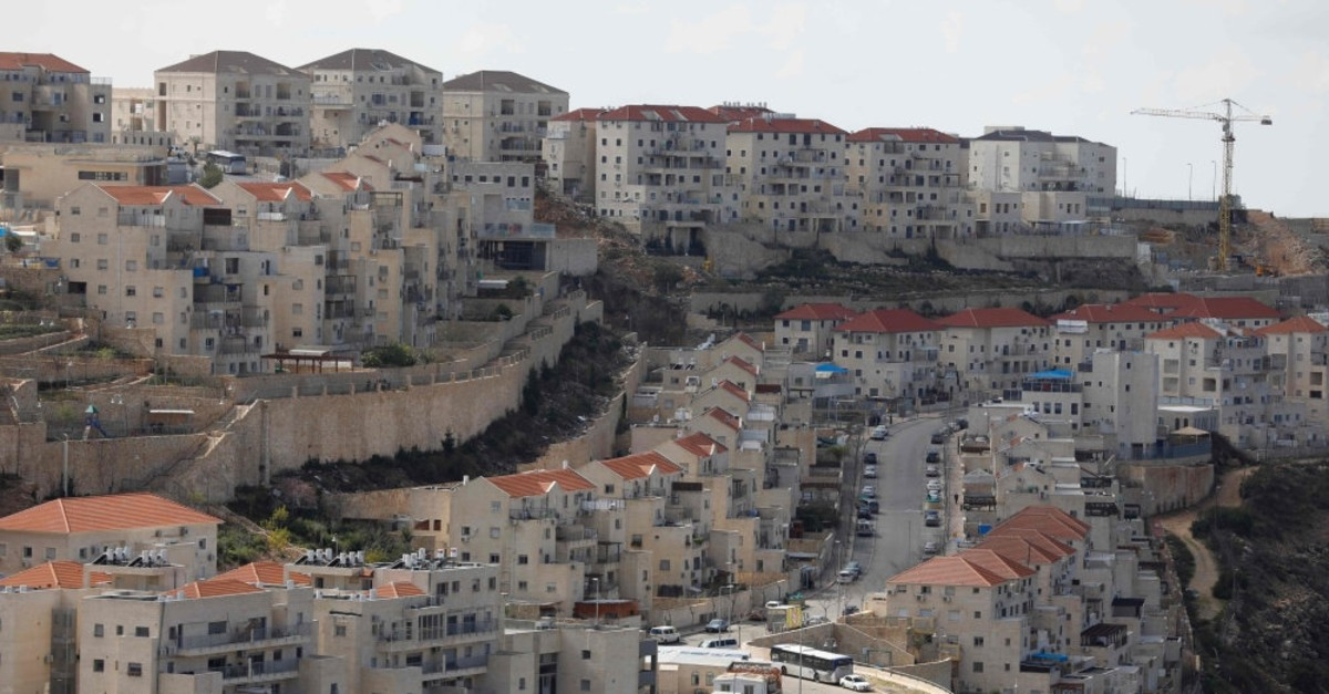 A view of the Israeli settlement of Beitar Illit, Feb. 14, 2018.