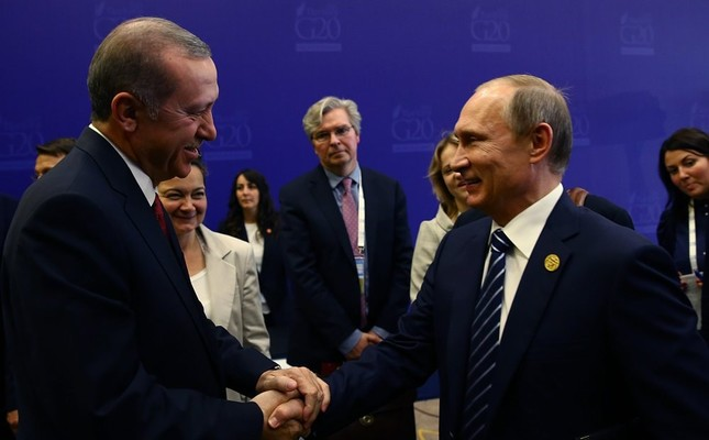 Once two close friends, President Erdoğan (L) and Russian President Putin, seek to return to friendlier times, as they are expected to meet twice in August.