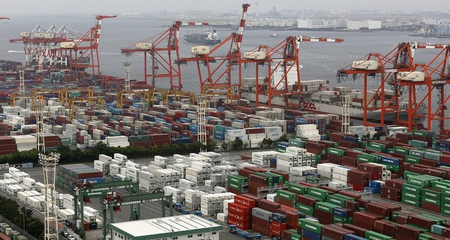 A file photo dated on19 June 2013 shows Aomi International Container Terminal for import and export in Tokyo, Japan. (EPA Photo)