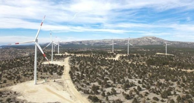 Last year, 6.6% of Turkey's electricity generation was provided by wind power plants. (İHA Photo)