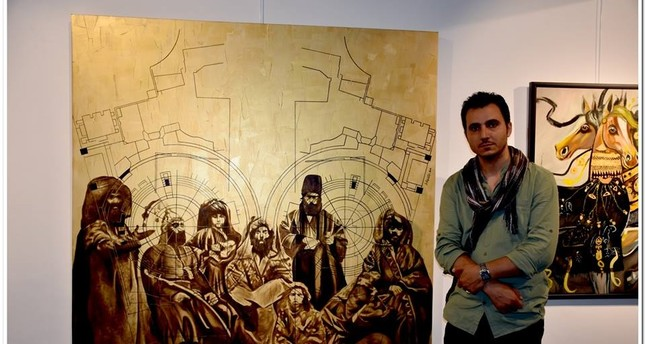 Turkish-Persian paintings on display at 7 Art Gallery - Daily Sabah