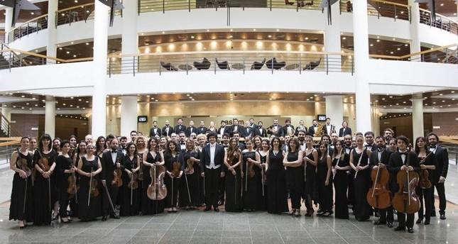 Tekfen Philharmonic Orchestra will perform under the baton of conductor Aziz Shokhakimov.