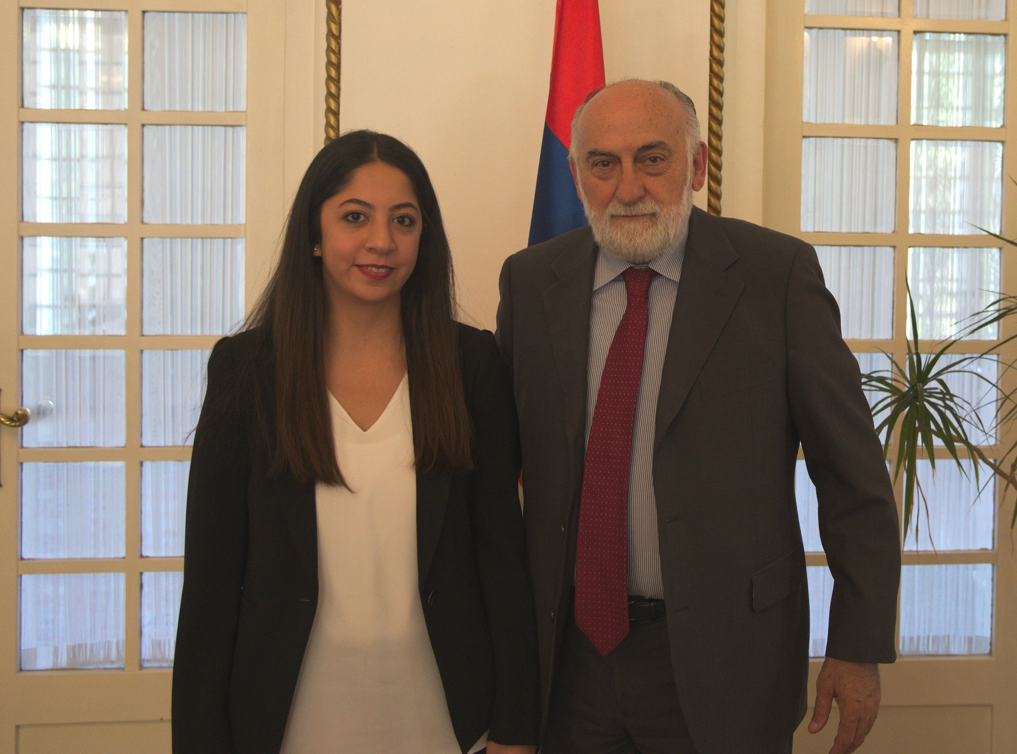 Daily Sabah's u00d6zgenur Sevinu00e7 with Serbian Ambassador Danilo Vucetic. He told DS that Erdou011fanu2019s visit regarded with high importance by Serbia, not only for development of bilateral relations, but also for strengthening of peace & stability in region.