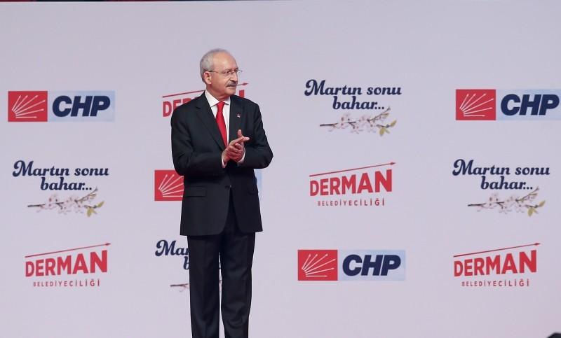 CHP Chairman Kemal Ku0131lu0131u00e7darou011flu. (AA Photo)