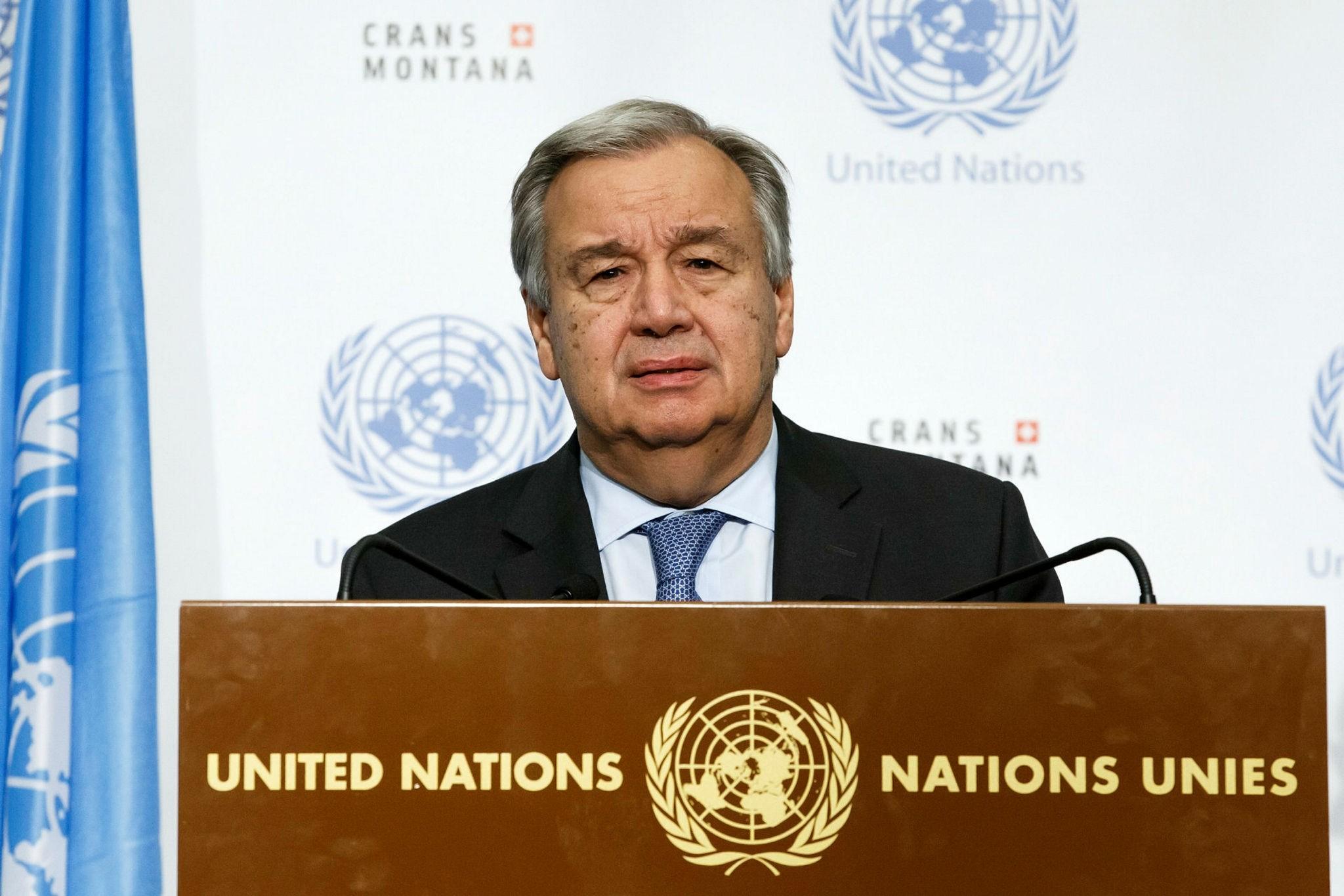 Antonio Guterres (EPA Photo)
