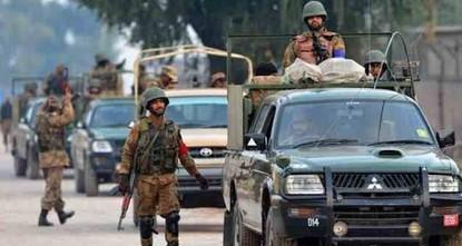 مقتل 4 مسلحين في اشتباك مع قوات الأمن جنوبي باكستان
