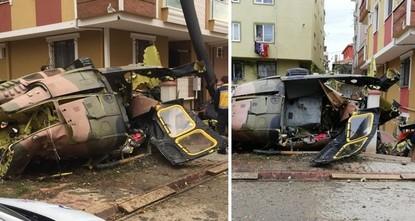 استشهاد 4 عسكريين إثر تحطم مروحية عسكرية بإسطنبول
