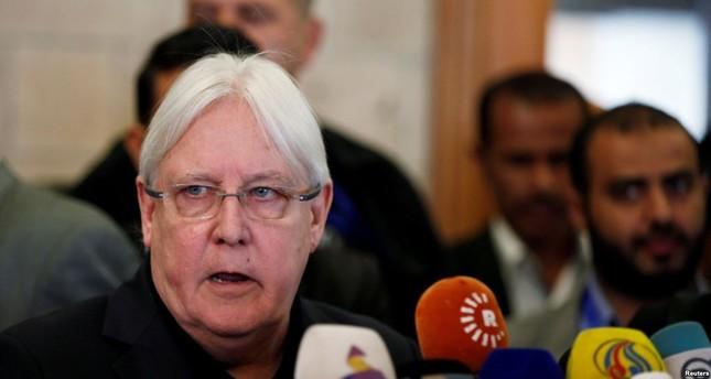 غريفيث: طرفا الأزمة باليمن وافقا على خطة إعادة الانتشار في الحديدة