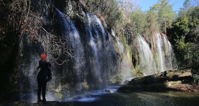 The Kurşunlu Waterfall Nature Park is home to 261 species of plants and wild animals.