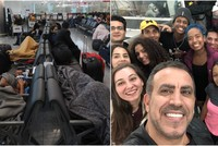 Colombian dancers fly back home with Turkish help