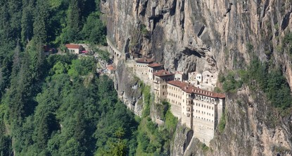 Sümela Monastery: History etched in mountains