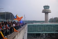 Dozens of flights canceled, delayed in Barcelona after huge protests