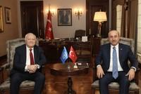 FM Çavuşoğlu discusses Alliance of Civilizations with Spanish diplomat
