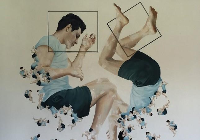 """Dönüşüm"" (""Transformantion"") by Tifak Arslan from the BASE exhibition."