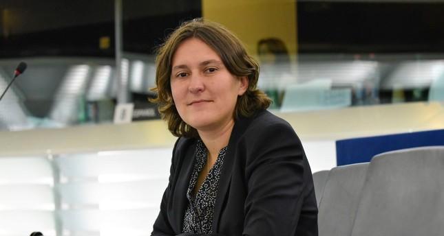 A photo of European Parliament rapporteur for Turkey, Kati Piri. (AA Photo)