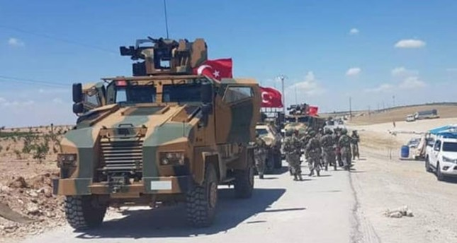 وحدات من الجيش التركي تصل محيط مدينة منبج شمالي سوريا