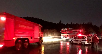 Fire breaks out at military maintenance center command in Istanbul