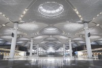 Как выглядит новый стамбульский аэропорт изнутри